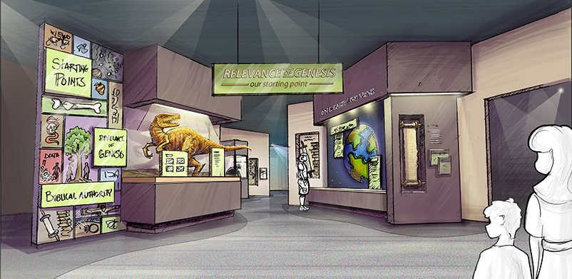 Entry in Creation Museum Redesign