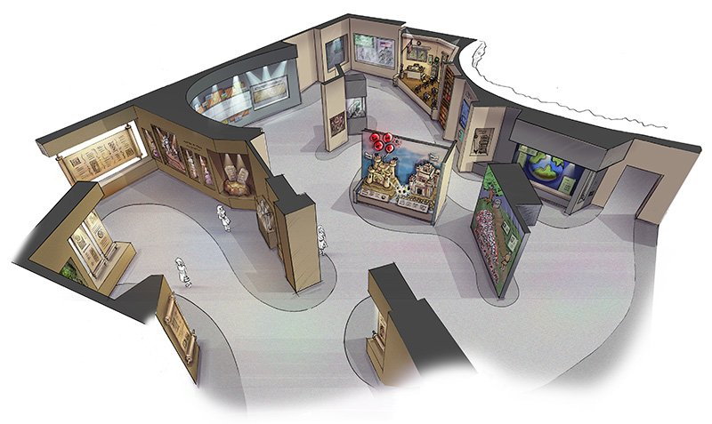 Exhibit Overview in Creation Museum Redesign