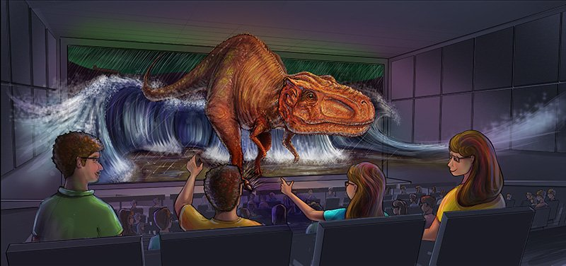 SFX Theater in Creation Museum Redesign