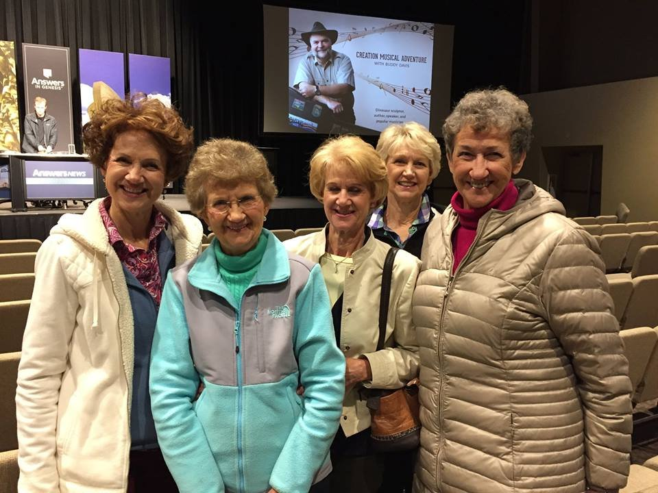 Five Sisters Visiting the Creation Museum