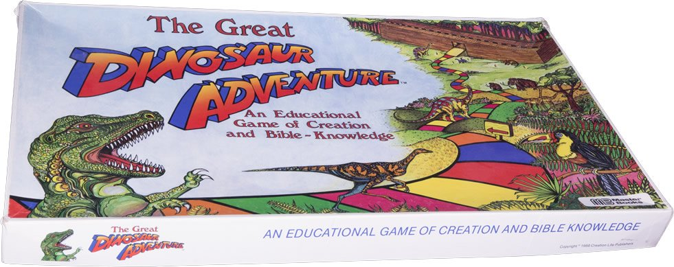 The Great Dinosaur Adventure Board Game