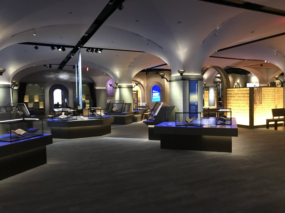Exhibit Space at the Museum of the Bible