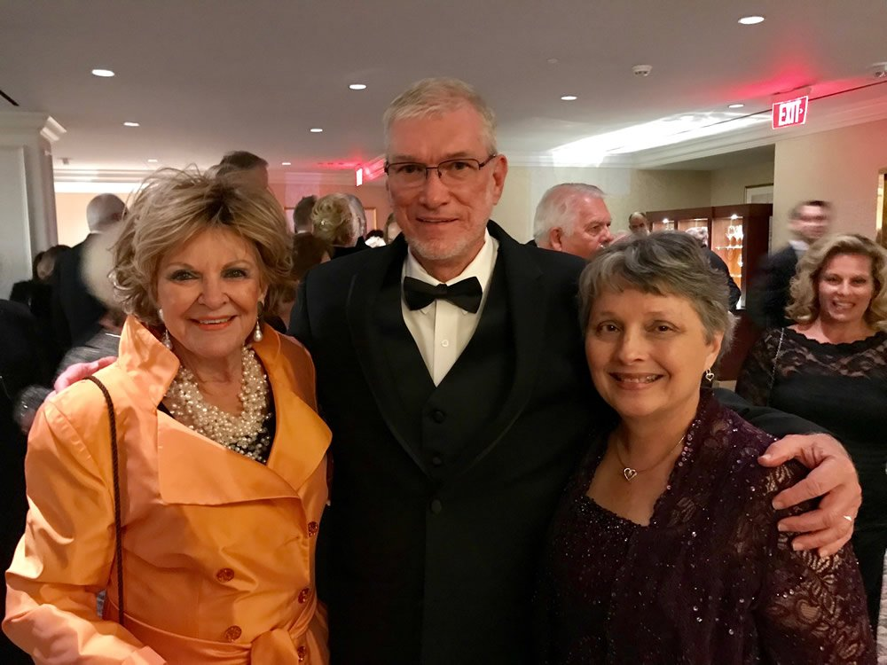 Kay Arthur with Ken and Mally at the Museum of the Bible Banquet