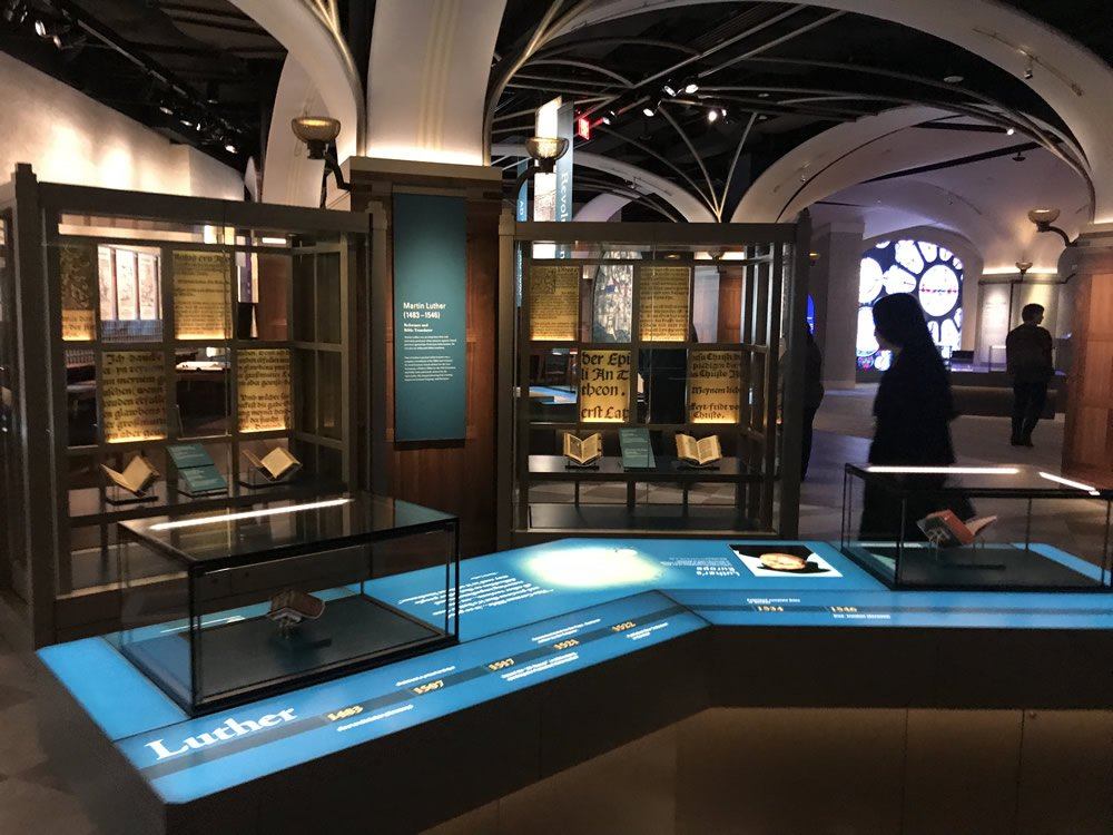 Martin Luther Exhibit at the Museum of the Bible