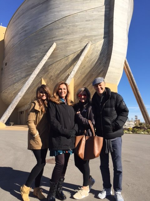 The Nelons at the Ark Encounter