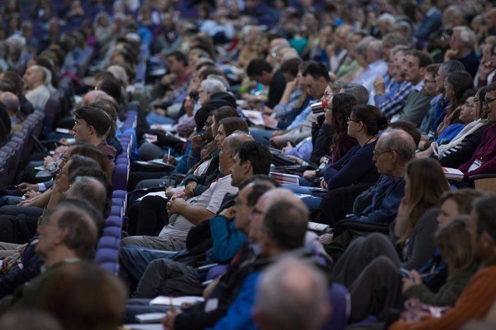 Audience at UK Mega Conference