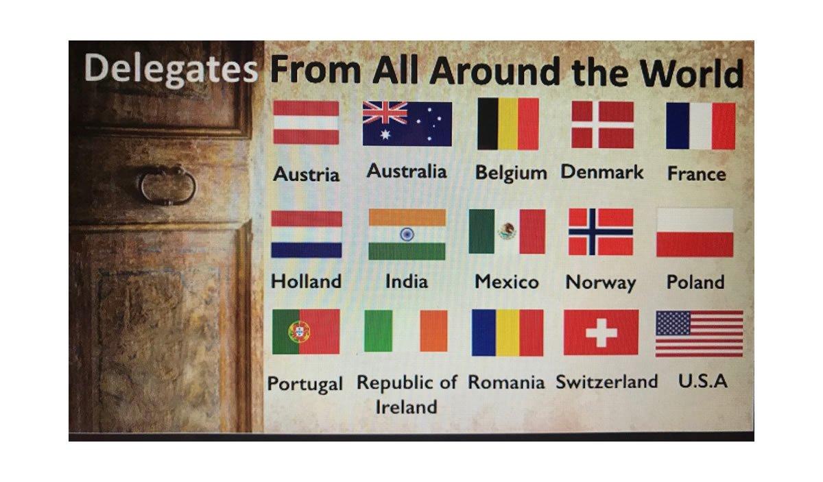 Countries Represented at UK Mega Conference