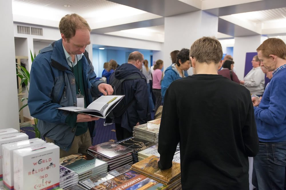 Resource Tables at UK Mega Conference