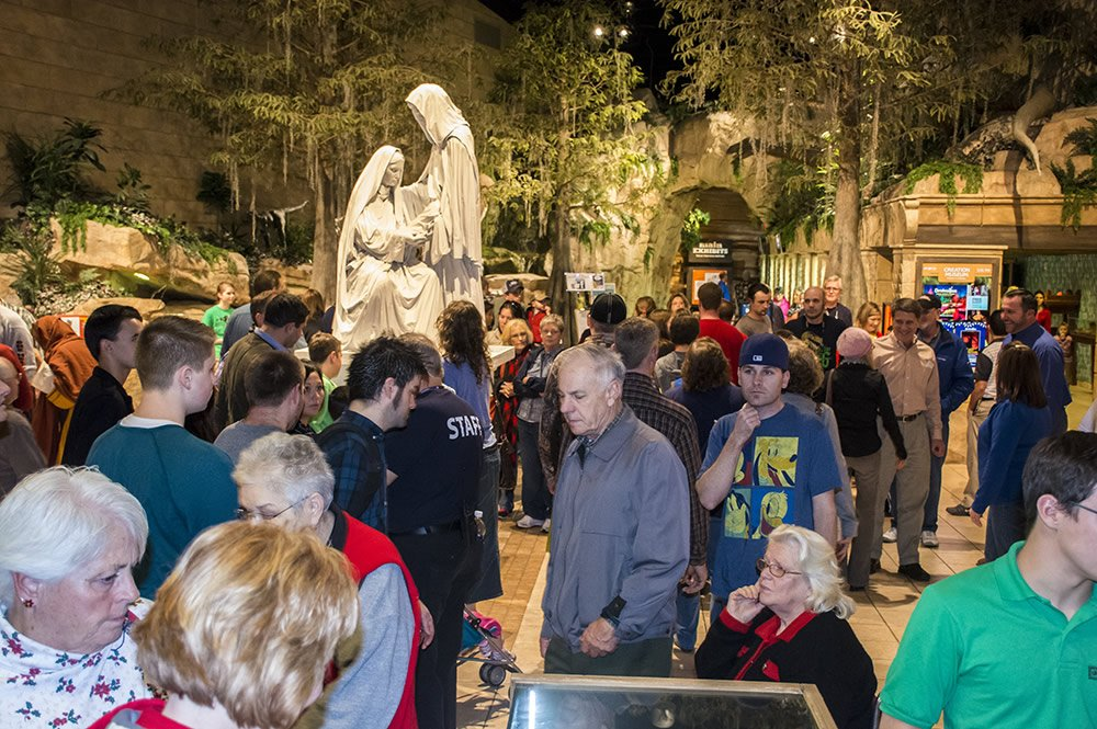 Guests at ChristmasTown