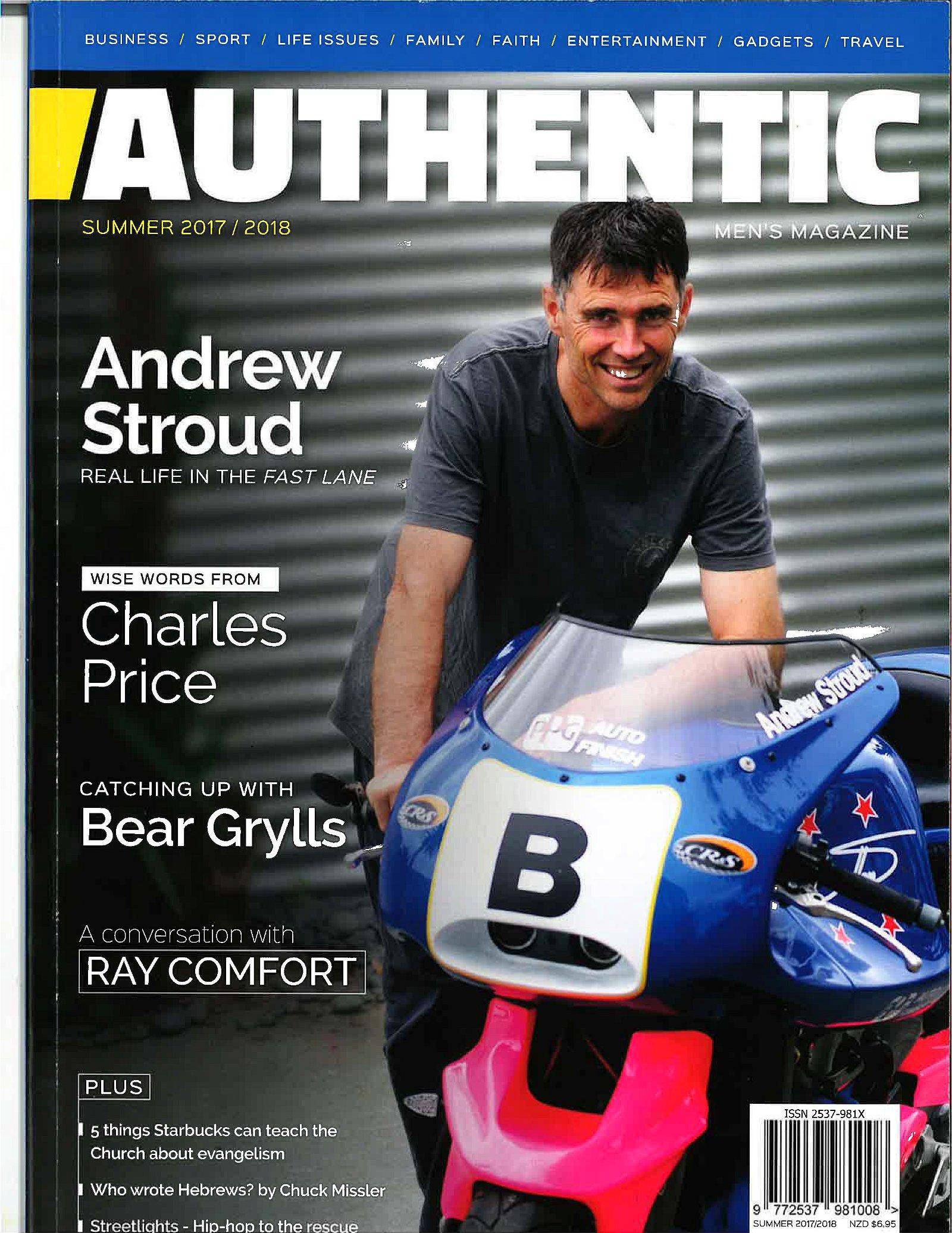 Authentic Magazine Cover