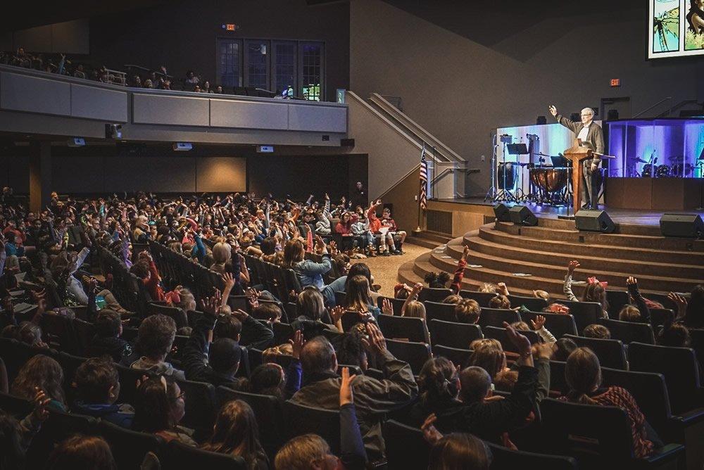 Ken Speaking at First Baptist Church, Indian Trails, North Carolina