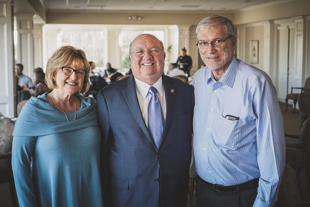 Ken with Mike and Kathy Whitson