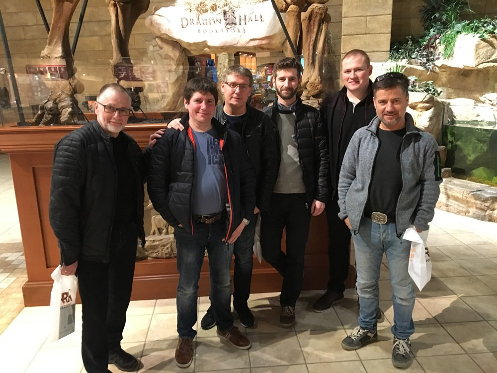 Danes from Faroe Islands Visit the Creation Museum