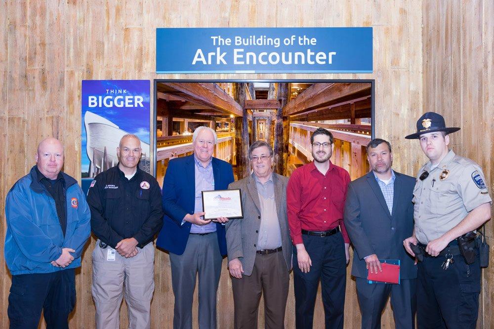 Ark Encounter StormReady Supporter Designation