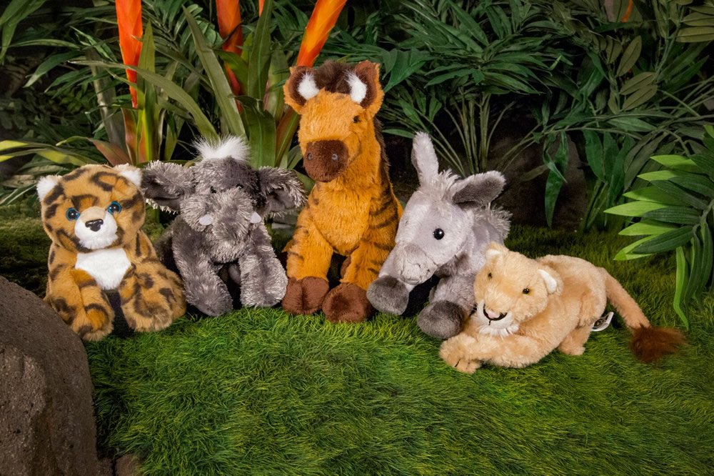 Stuffed Animals of Small Animal Kinds