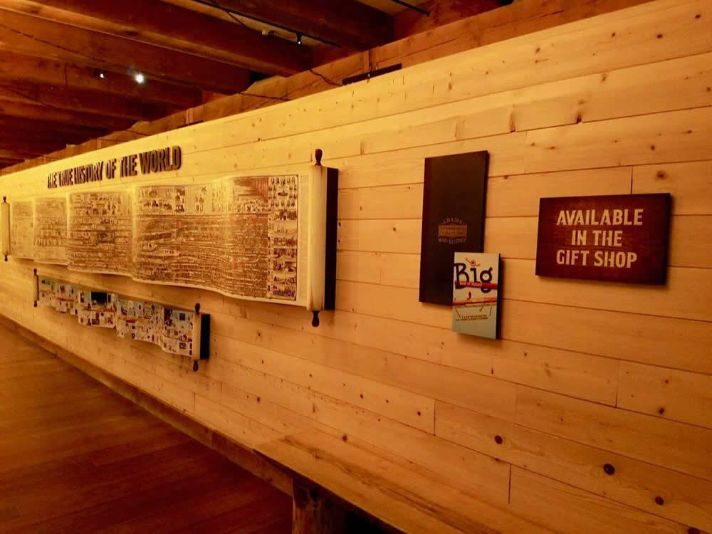 Timeline of History Exhibit at the Ark Encounter