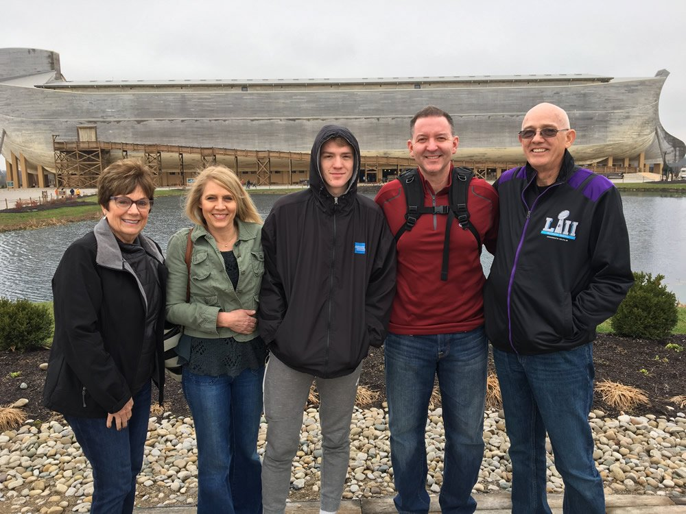 Troy Dobbs Family at the Ark Encounter