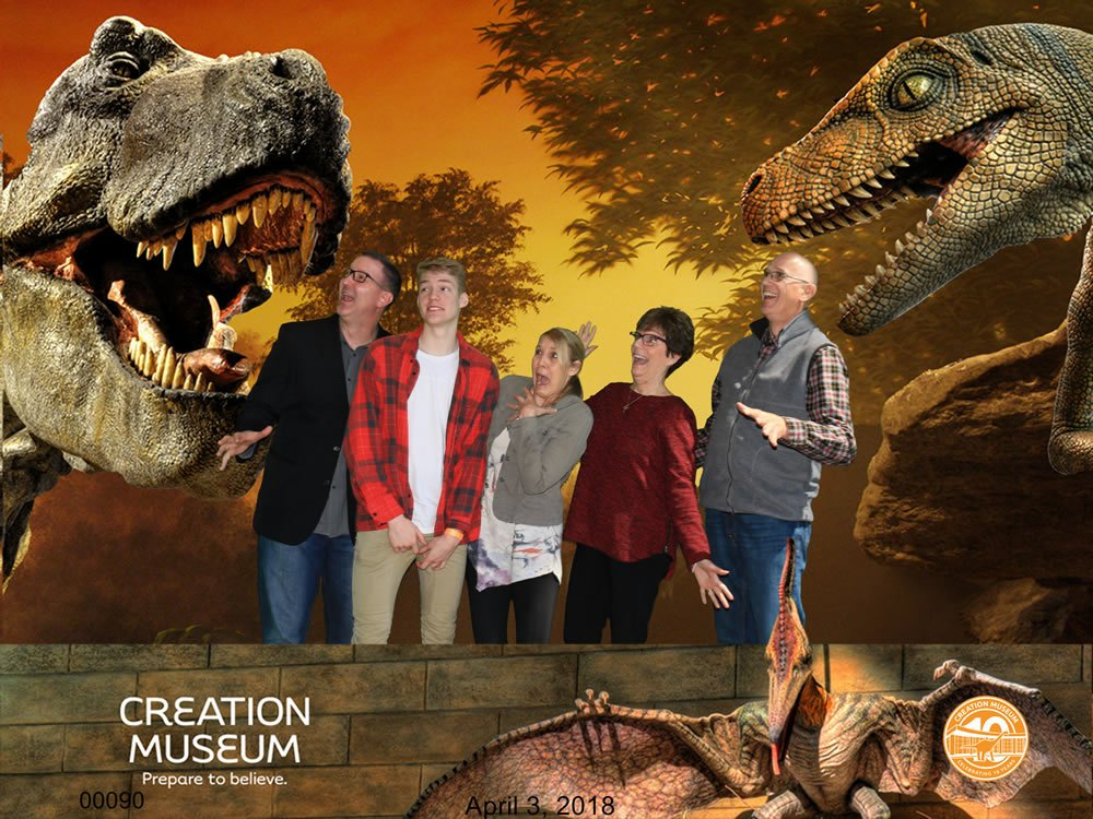 Troy Dobbs Family at the Creation Museum