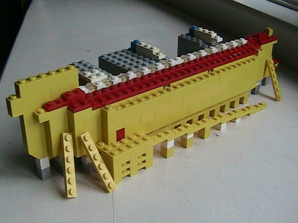 Bow of Lego Ark by Stephen Eash