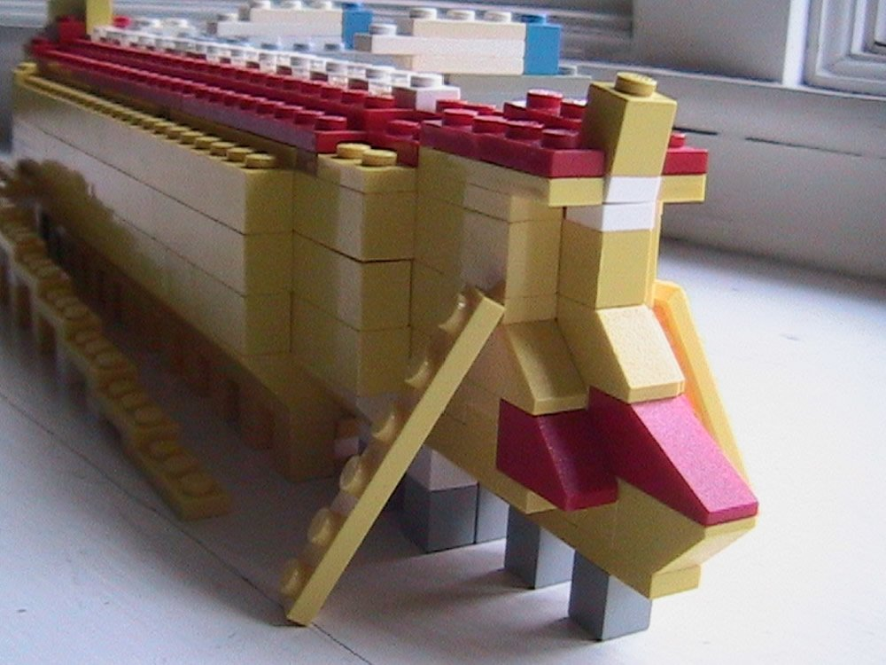Stern of Lego Ark by Stephen Eash