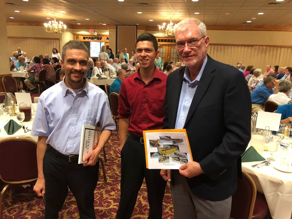 Stephen and Shane Eash with Ken Ham