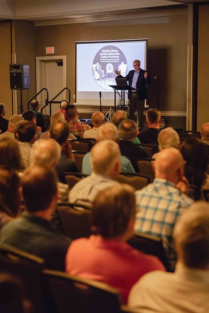 Ken Ham Speaking at the International Conference on Creationism