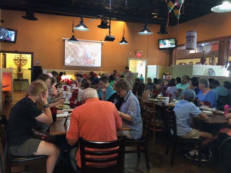 Texans at a Restaurant