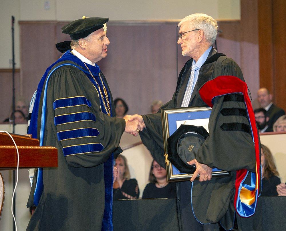 Ken Ham Receiving Honoary Doctorate