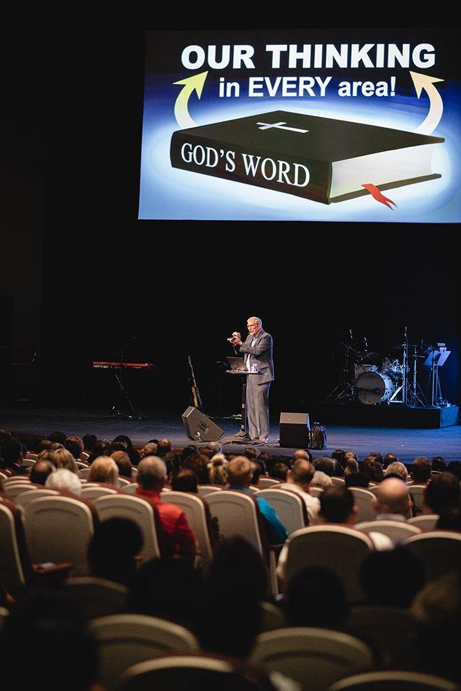 Ken Ham Speaking at Crossroads Christian Church