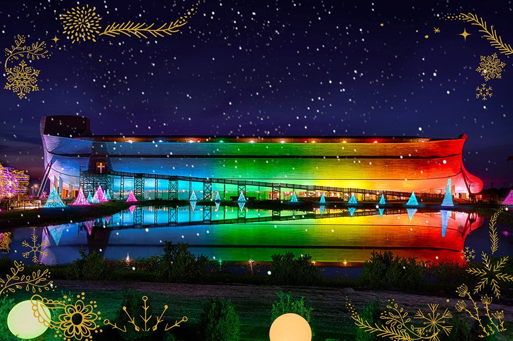 Ark in Rainbow Lights