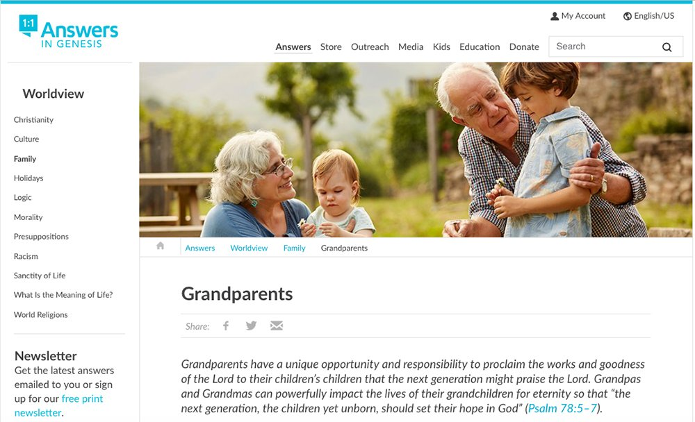 Grandparents Page