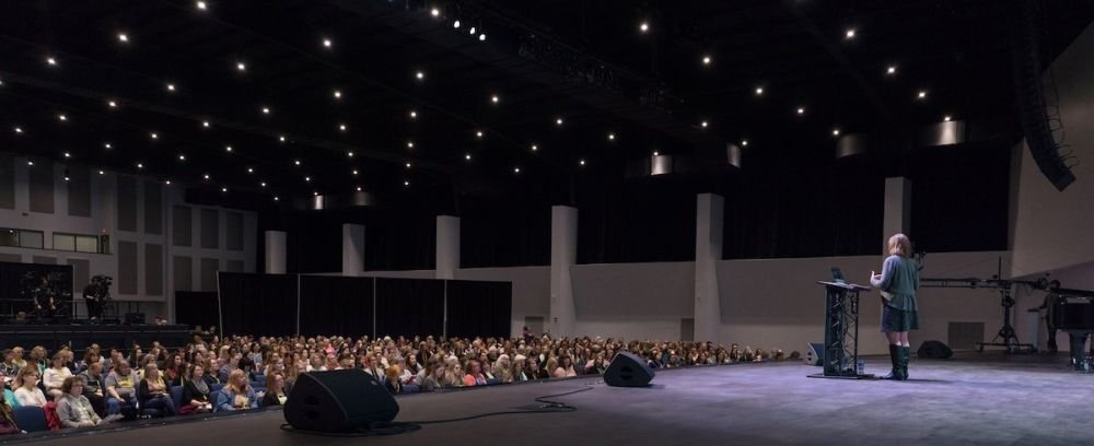 Dr. Georgia Purdom Speaks at the Answers for Women Conference