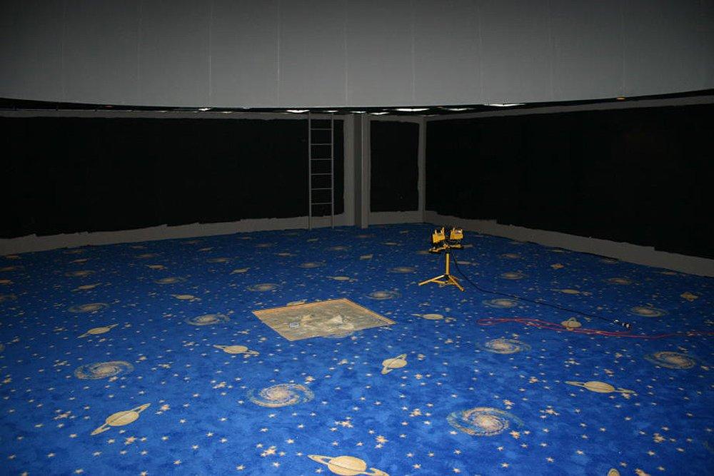 Creation Museum Planetarium Carpet