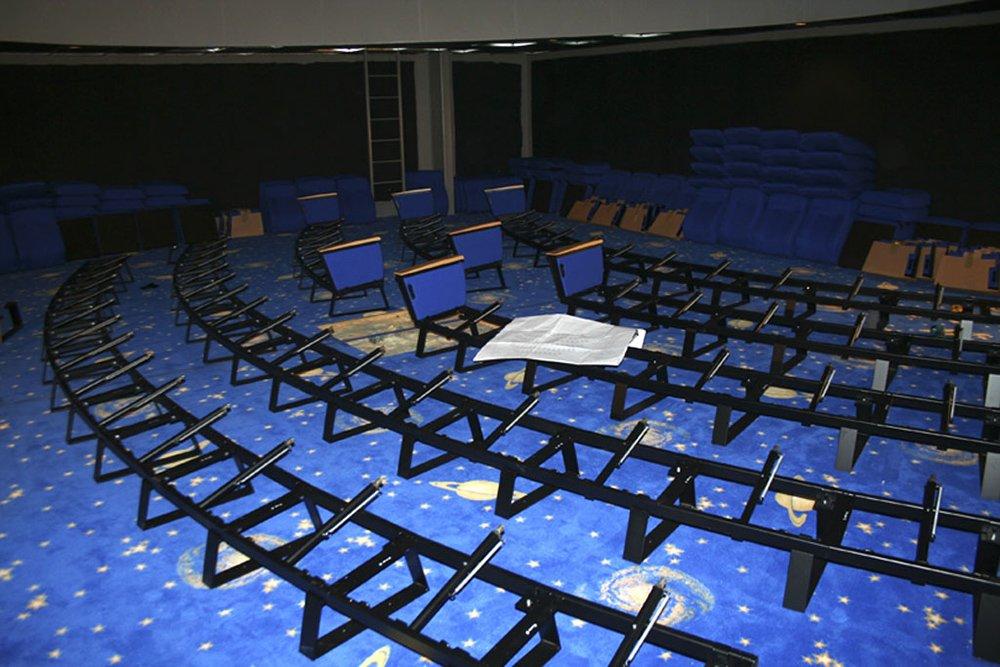 Creation Museum Planetarium Seat Installation