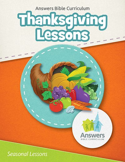 Free Thanksgiving Lessons from Answers Bible Curriculum
