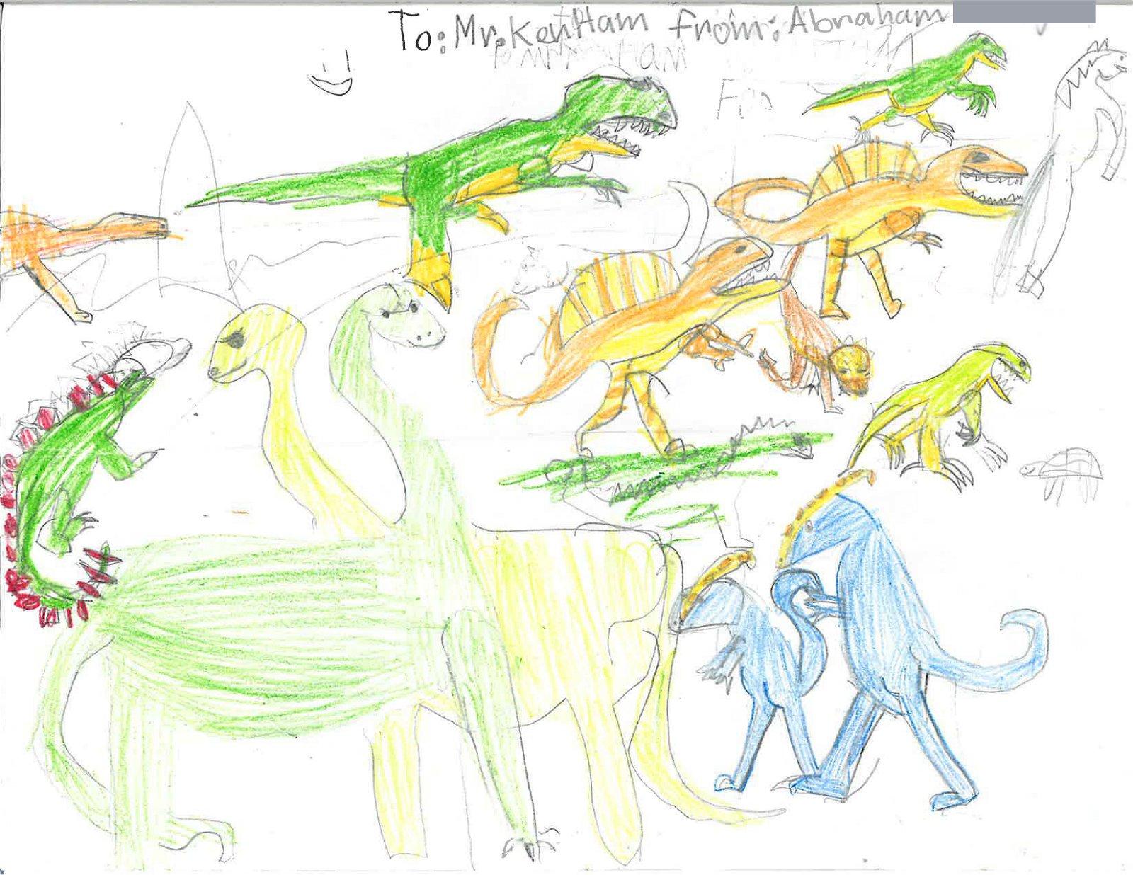 <i>Dinosaur Pictures</i>