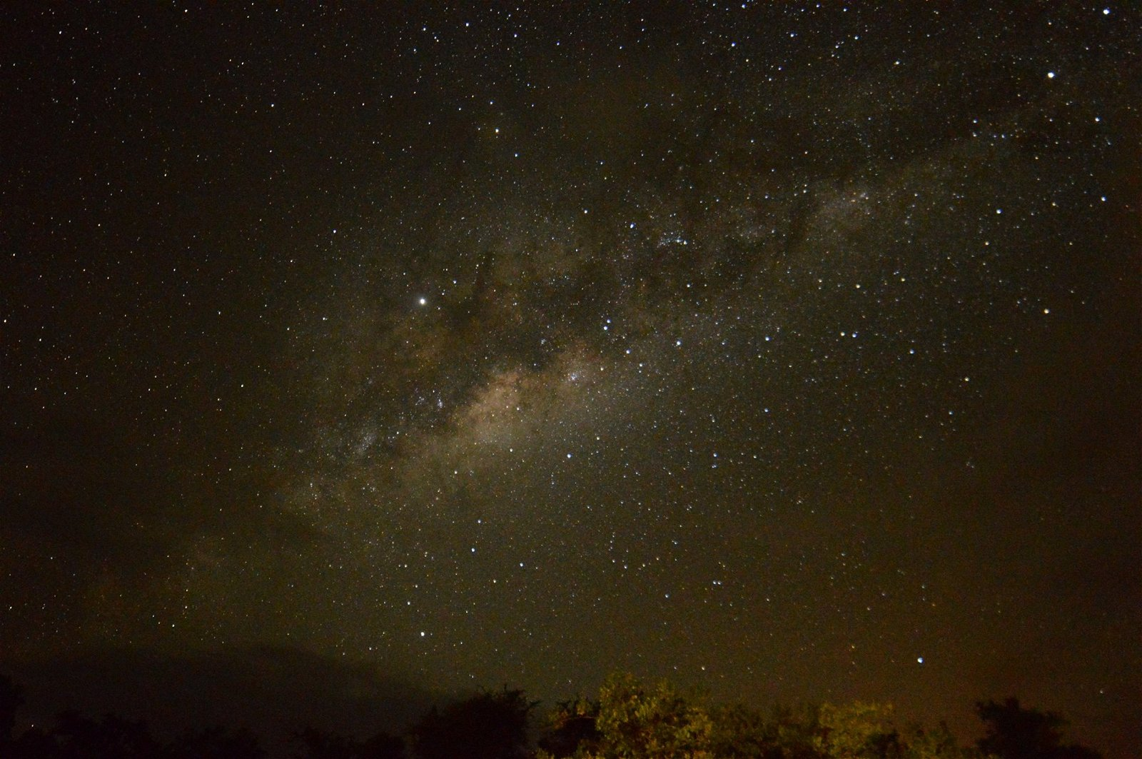 The South African nigh sky