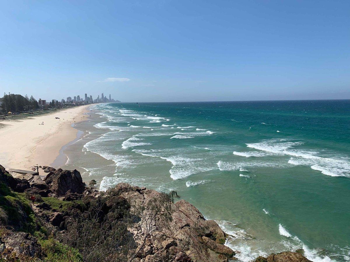 A walk on an Australian beach