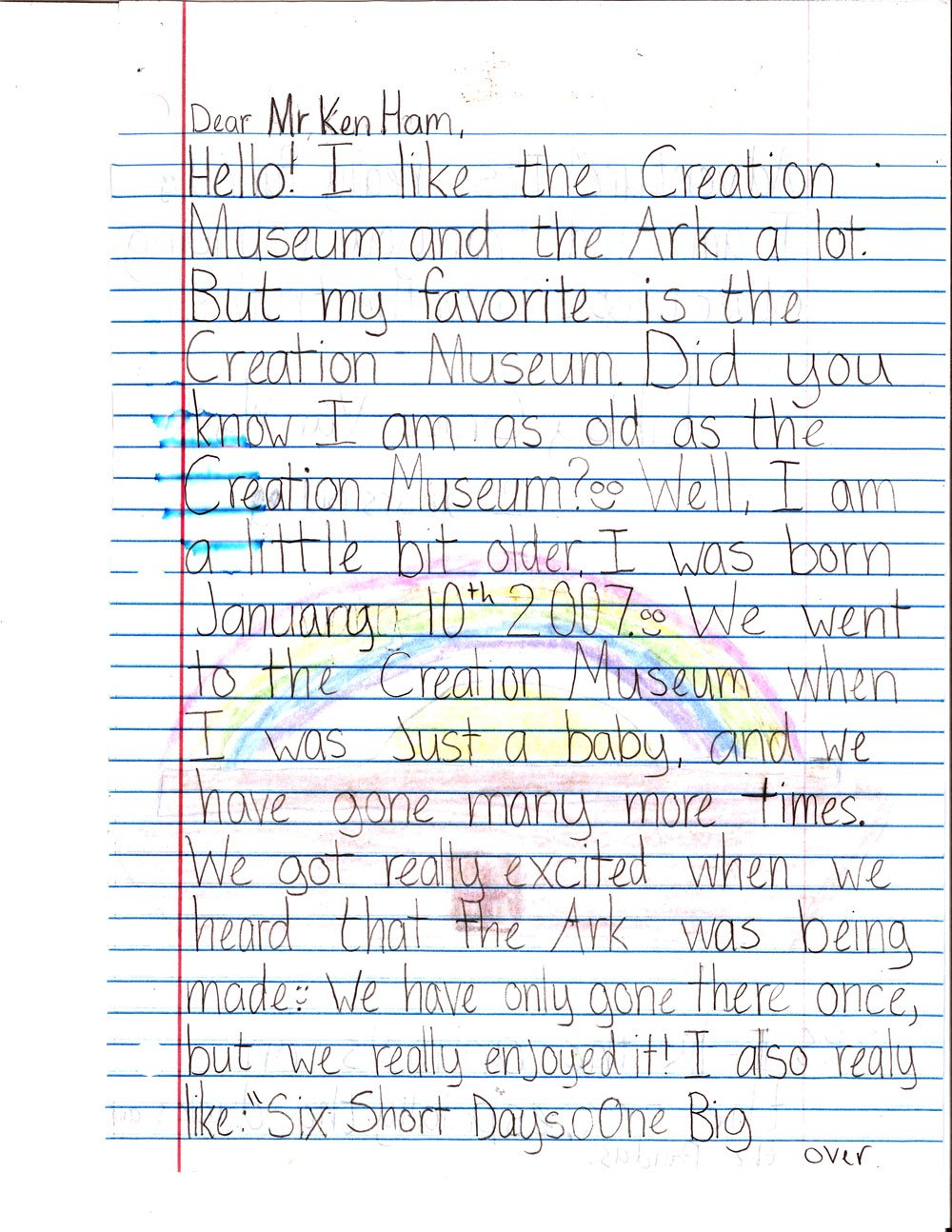 Encouraging Letters From Kids To Ken Ham