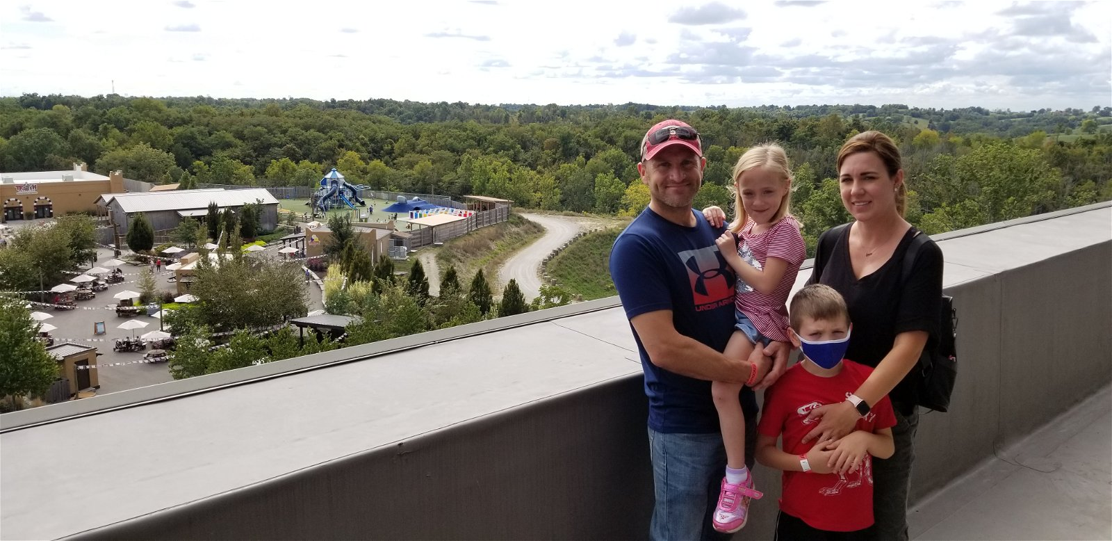 Stensrud Family at the Ark Encounter