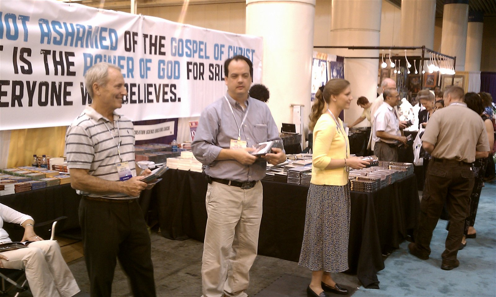 AiG Booth at NEA Conference