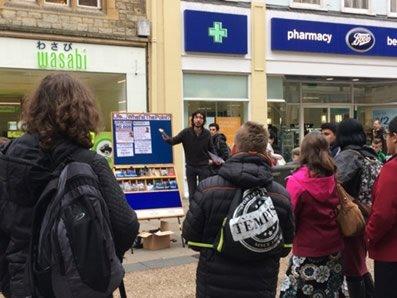 Oxford Street Preaching