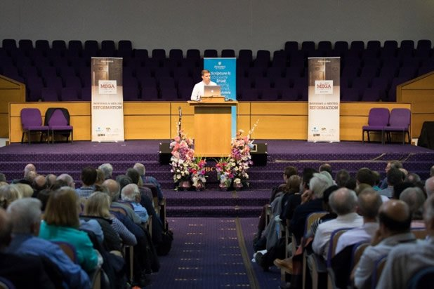 Simon Turpin at the UK Mega Conference
