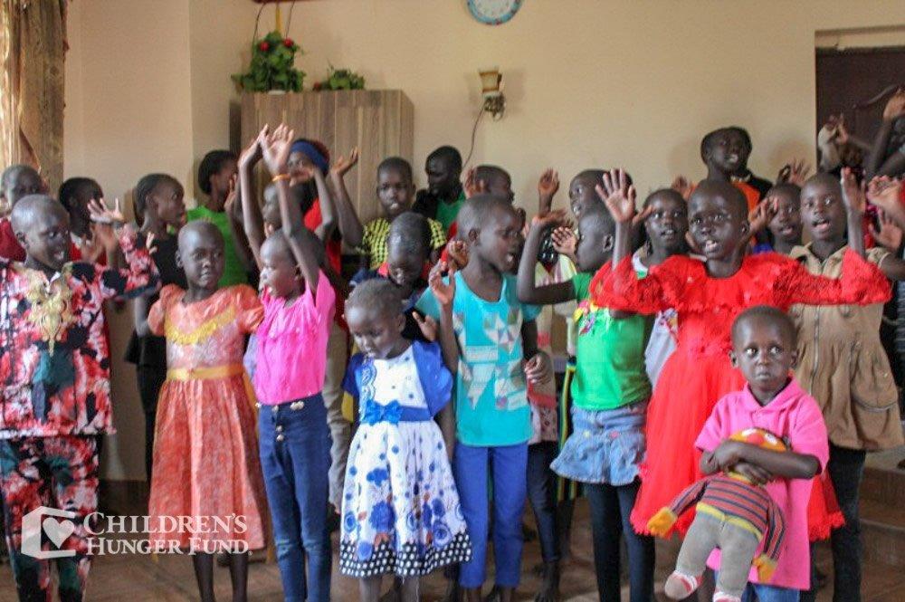 Children Celebrating Children's Hunger Fund