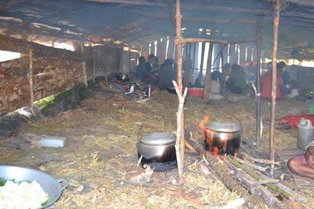 Fire in the Hut