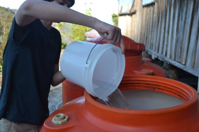 Filling water tanks
