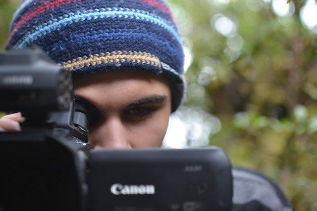 Morgan with Camera