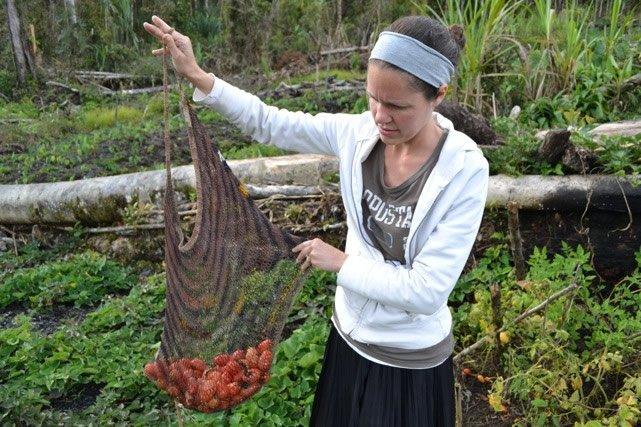 Libby Holding Net Bag