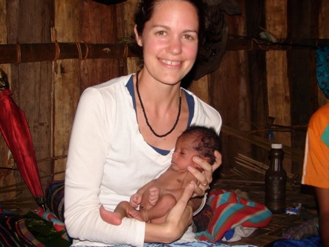 Libby and Infant