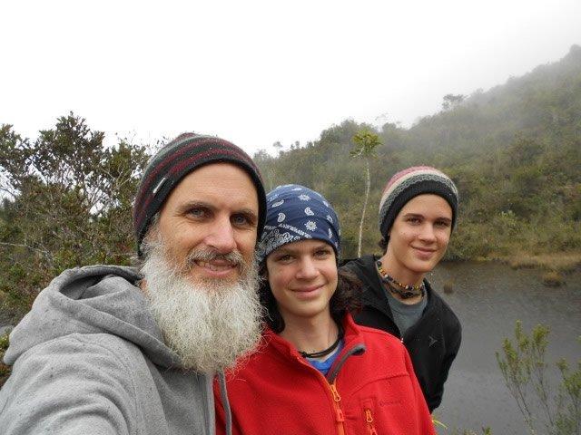 Mike, Kian, and Hudson